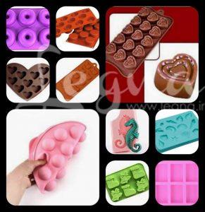 قالبهای سیلیکونی شکلات ، کیک و ژله