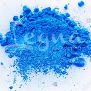پودر رنگ آبی