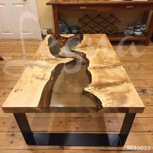 کاربرد رزین اپوکسی در ساخت میزهای چوب و رزین اپوکسی