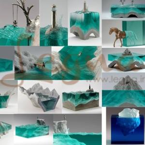 کاربرد رزین اپوکسی در دکوراسیون و مجسمه سازی